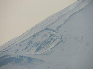 Dernier cratère visible de sa dernière éruption