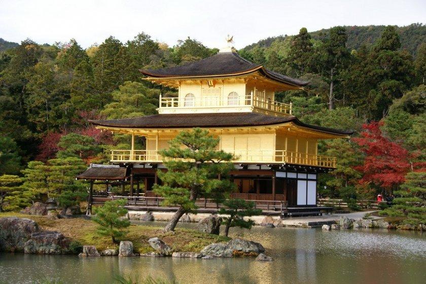 วัดคินคะคุจิ ( Kinkakuji Temple ) - เกียวโต - Japan Travel