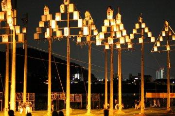 Festival d'été du feu à Tejikara