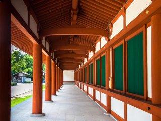 Cloister at Yakushiji Temple