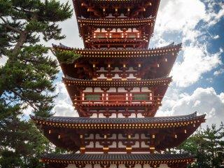 West pagoda of Yakushiji Temple
