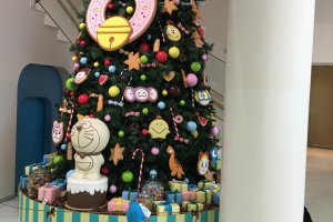 There was a specially decorated beautiful christmas tree when I was there.