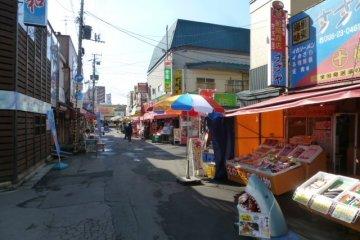 <p>Hakodate Fish Market</p>