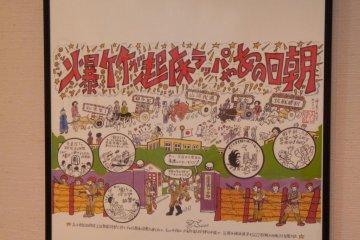 <p>เฟรมโปสเตอร์ของนิทรรศการการ์ตูน(มังงะ) สำหรับ เทศกาลมังงะทตโตะริ<br /> &nbsp;</p>