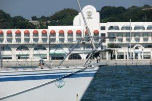 Lumani Hotel Yacht View just off the coast of Ushimado Town