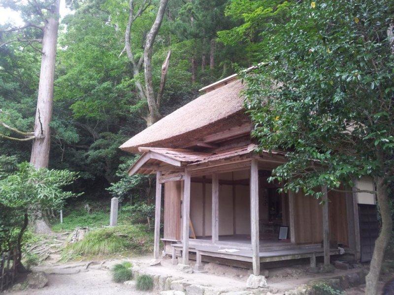 Ryokan-sama's mountain hut, Gogo-an