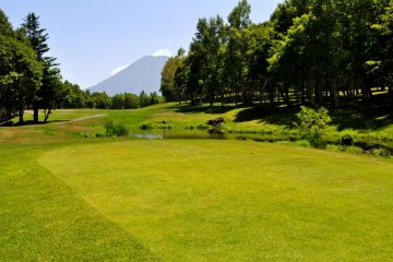 Perfect view on a Tokyu Golf Course fairway