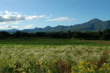 The Niseko range from Mt. Annupuri to Mt. Iwanai