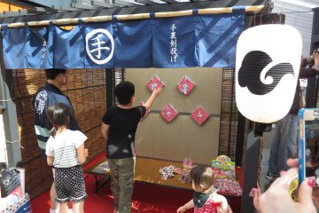 <p>You can try your hand at old-fashioned games</p>