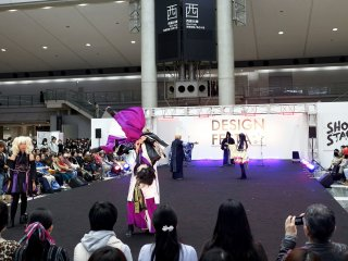 At different times on both days you can see many types of performers on stage that include singing and dancing as well as some modern dance crews.