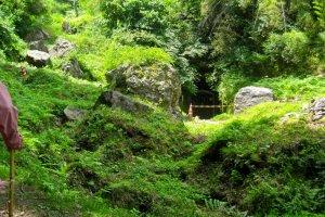 The portal of Okubo Mabu