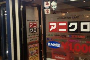 Anime Cafe.