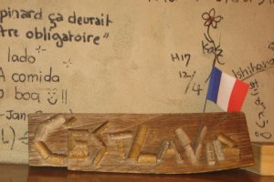 The Writing on the Wall, C'est La Vie, Next to our Table