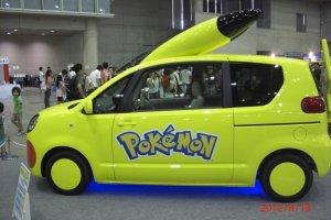 Life size Pokemon car