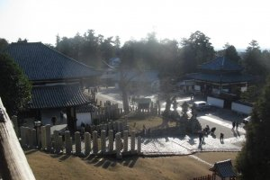 The spectacular view from Nigatsu-do