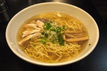 <p>Salt-based ramen, a homegrown specialty of Hakodate</p>