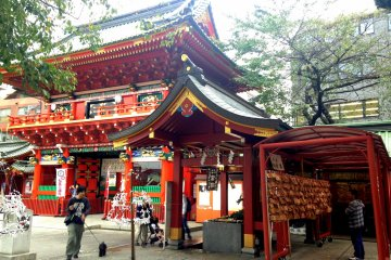 Tech Protection at Kanda Myojin Shrine