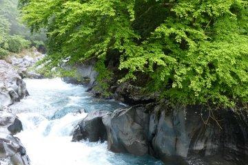 Nikko's Kanman-ga-fuchi Walk