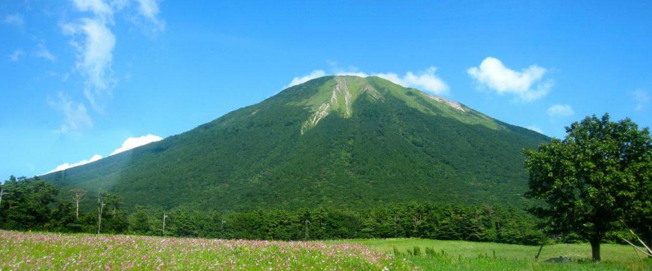 Mt. Daisen from the Daisen Loop Bus