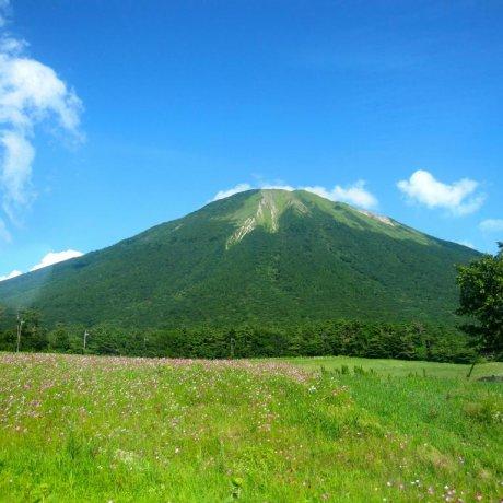 다이센 산 등반
