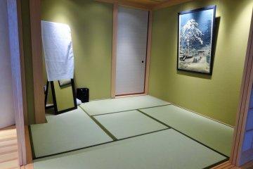 <p>ห้องสำหรับแต่งตัวชุดกิโมโน</p>