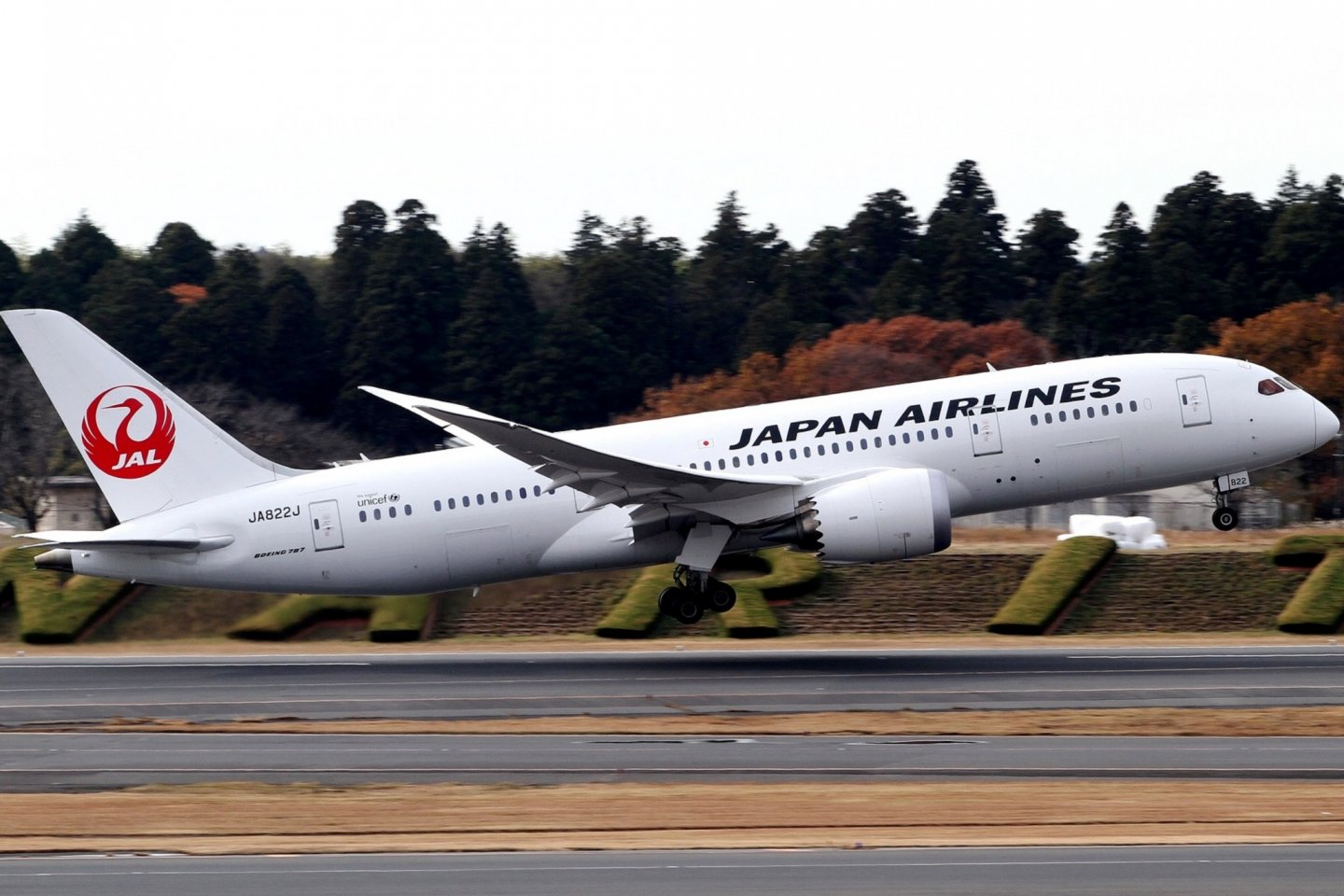 JAL Boeing wide body aircraft