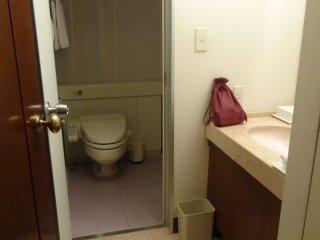 Les salles de bains étaient incroyablement spacieuses