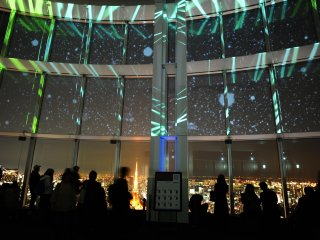 The Starry Sky Illumination in Mori Tower