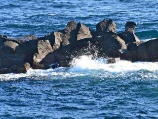 Великолепные голубые воды океана!