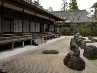 สวนหินของวัดคอนโกะบุ-จิ (Kongōbu-ji)