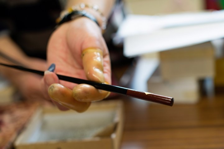 Lacquer Painting in Yamaguchi