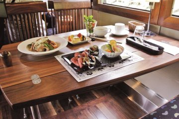 The lunch trains require a reservation, while the morning train from Fukuchiyama can be accessed for free with the Kyoto Sea Pass