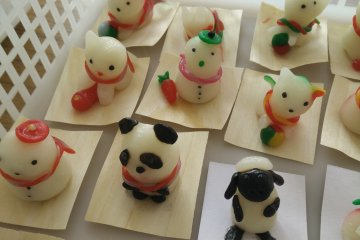 <p>A Sean the Sheep chinkoro figurine</p>