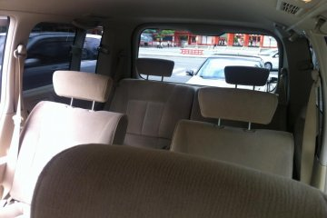 Comfortable Clean Interior of Mr Doi's Taxi