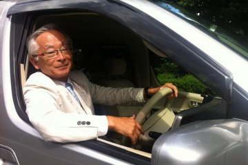 Mr Doi your friendly driver and Government licensed tour guide