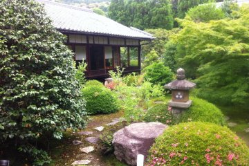 Experience the peace of a Japanese Garden that tour buses don't go to with Mr Doi