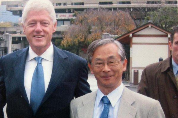 Mr Bill Clinton and Mr Doi