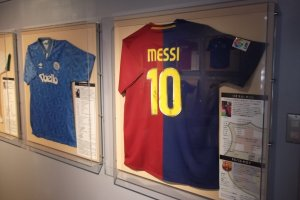 Maradona and Messi: the Shizuoka Soccer Museum, near the Clematis Garden