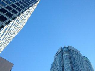 Gedung-gedung pencakar langit di Roppongi