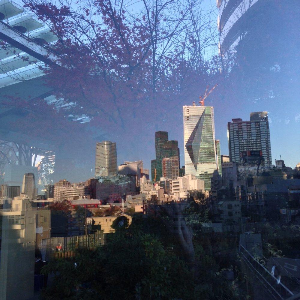 Refleksi dua hal yang paling saya suka, perkotaan dan musim gugur
