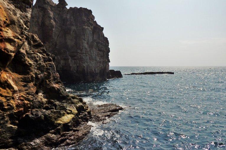 Nanki Shirahama's Sandanbeki Cave