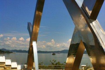 จุดชมวิว Tatara บนเกาะ Omishima