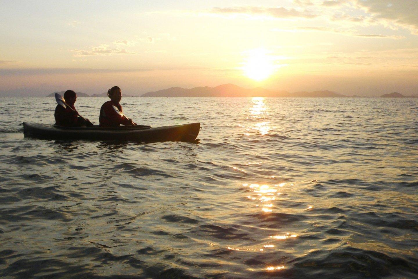 Experience the beauty and serenity of Lake Biwa with a sunrise boat trip.