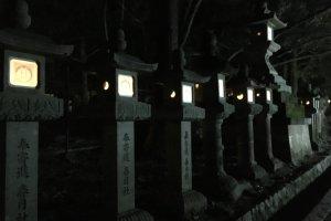 Lentera batu di kuil Kasuga