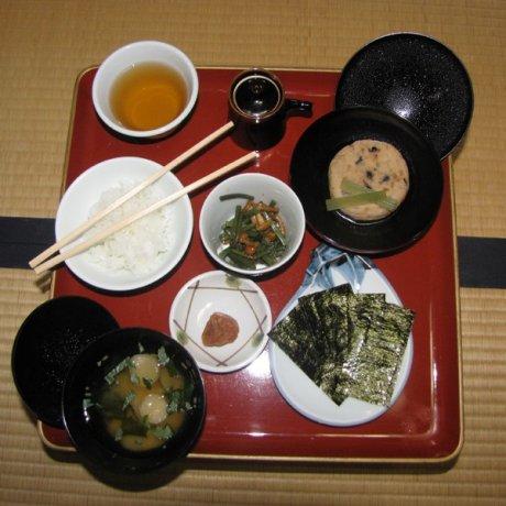 Du lịch đến Nhật Bản như một người ăn chay