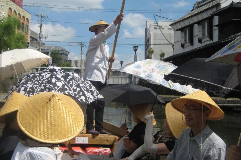 Parasol ladies, on our first tour.