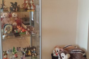 A part of the merchandise collection
