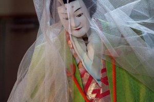 Une marionnette de la Troupe de Marionnettes Tonda