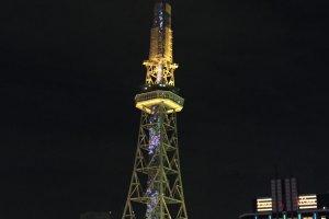Vue sur la tour télé depuis Oasis 21