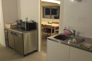 Area dapur di lantai 10